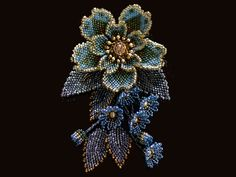 Glitter exotic mini beads approach