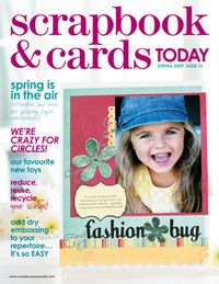 2009 - Spring - past scrapbook and cards magazine