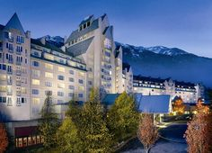 Fairmont Hotel Exterior Design With Large Garden. With JourneyCook
