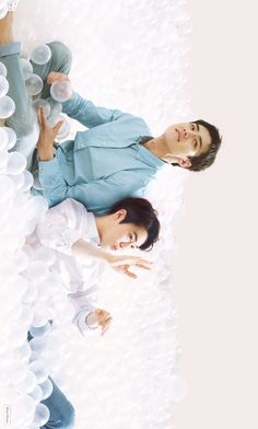 Sehun and Suho