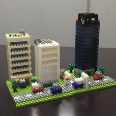 «Nano City Street! #nanoblock#nanoblocks#lego#la#losangeles#daily#나노블럭#나노블록#블럭#레고#일상#엘에이#미국#팔로우»