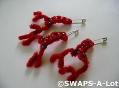 s.w.a.p.s. ideas   girl scout ideas / SWAPS-A-Lot - Mini Crawfish~Mud Bug SWAPS Kit for ...