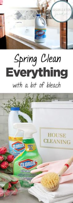 Spring Clean Everything With a Bit of Bleach