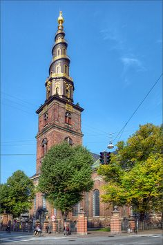 Church of our Saviour in Copenhagen, Denmark