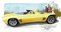 1968 El Camino Custom by GaryCampesi