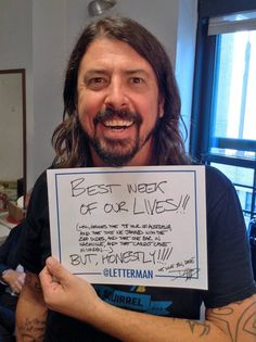 Foo Fighters on Letterman