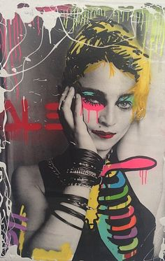 Alec Monopoly and Richard Corman, Ribbed Madonna