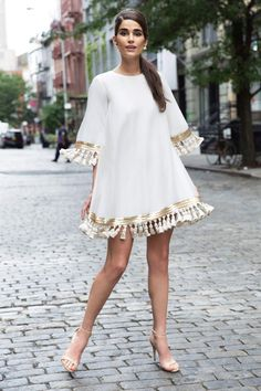 Dresses!  Tassel & Fringe Trim.