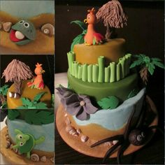 Bali... Zum Geburtstag. Wenn schon nicht als Reise, dann wenigstens als Torte Bali, Desserts, Voyage, Pies, Birthday, Backen, Deserts, Dessert, Postres