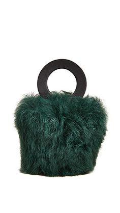 6f54d8ab2e Maison Boinet XS Shearling Bucket Bag