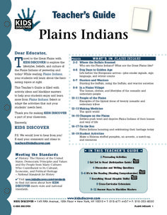 Plains Indians | KIDS DISCOVER