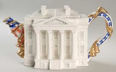 Replacements, Ltd. Search: fitz & floyd teapot; white house