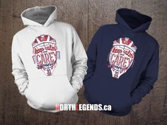 Keep Calm and Carey On hoodies now available at www.NorthLegends.ca