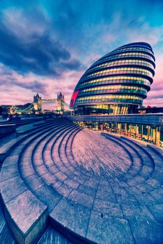 London City Hall   England (by Matthias-Haker