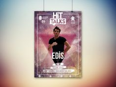 This is conversation poster for Turkish singer EDİS.