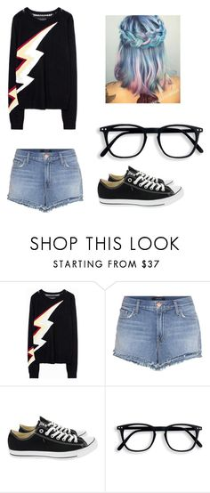 """""""Just Living"""" by ohheytherefren ❤ liked on Polyvore featuring interior, interiors, interior design, home, home decor, interior decorating, Zadig & Voltaire, J Brand, Converse and casualoutfit"""