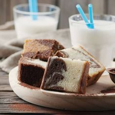 Cake marbré au yaourt