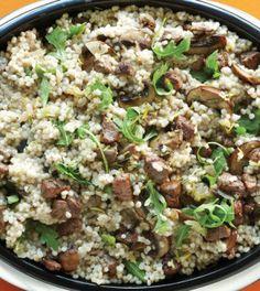 Lamb & Mushroom Barley Risotto