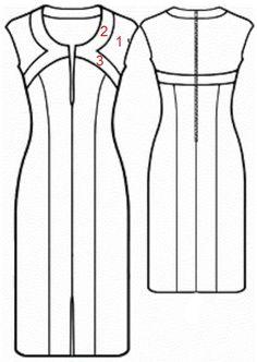 El patrón de vestido que traemos hoy es de esos patrones que conviene guardar. Nos va a permitir la opción de hacer diferentes modelos solo con variar algunos detalles.  Es un patrón gratuito public