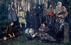 Vogue Japan October 2014 | Bruna Rosa, Dasha Gold + More by Emma Summerton [Editorial]