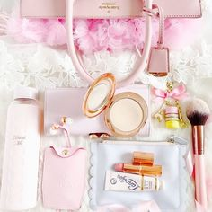 My Girly Handbag Essentials Best Baby Doll, No Ordinary Girl, What In My Bag, Tips & Tricks, Just Girly Things, Everything Pink, Pink Aesthetic, Kate Spade Bag, Girly Girl