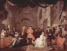 William Hogarth, John Gay's The Beggar's Opera, 1728