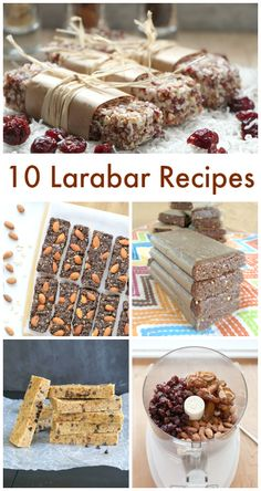 Love Larabars? Here are 10 recipes to make yourself.