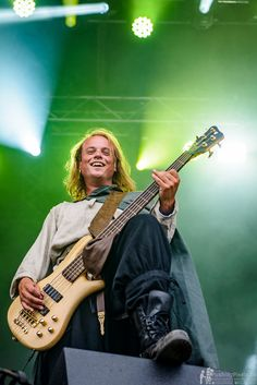 Born - Twilight Force ⚫ Photo by Markus Felix, Pushingpixels.de ⚫ Rockharz 2016 ⚫ #TwilightForce #music #metal #concert #gig #musician #guitar #guitarist #bass #bassist #Born #cape #belt #blond #longhair #festival #photo #fantasy #cosplay #larp #man #onstage #live #performing #playing #celebrity #band #artist #Sweden #Swedish #Rockharz