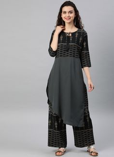 Keep ahead in fashion with this grey faux crepe casual kurti. The print work looks chic and perfect for casual and party. (Slight variation in color, fabric & work is possible. Model images are only representative.) Latest Kurti Design HAPPY INDEPENDENCE DAY - 15 AUGUST PHOTO GALLERY  | 1.BP.BLOGSPOT.COM  #EDUCRATSWEB 2020-08-12 1.bp.blogspot.com https://1.bp.blogspot.com/-qjTWIPto5d8/W3N6EF_ZkQI/AAAAAAAAAe8/00fcwiT3EjgpGlGAI7dfVVqd3LgLfYigwCLcBGAs/s640/Independence-Day-GIF.gif
