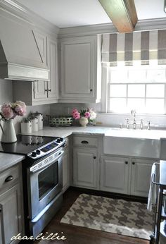 Dear Lillie: Our Kitchen Makeover (Before and Afters and a Full Source List) Like this.