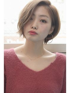G (G) G Earhook short Bob also turned fast! # turned # fast - New Site Short Hairstyles Fine, Girls Short Haircuts, Pretty Hairstyles, Short Hair Styles For Round Faces, Short Hair With Layers, Short Hair Cuts For Women, Japanese Short Hair, Korean Short Hair, Corte Pixie