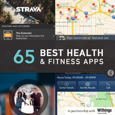 Mobile apps continue to revolutionize the ways we run faster, get stronger, sleep more, feel calmer, and eat better. From the fun and zany (zombies!) to the scientific (food allergies!), here are the top 65 in health and fitness. Best yet: Most of them are free.