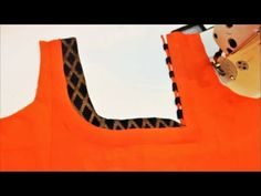 Designer Blouse Cutting And Stitching (DIY) - Tamil Chudithar Neck Designs, Kids Blouse Designs, Salwar Neck Designs, Kurta Neck Design, Saree Blouse Neck Designs, Neck Designs For Suits, Dress Neck Designs, Kurta Designs, Sleeve Designs