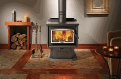 Osburn 1600 High-Efficiency EPA Wood-Burning Stove