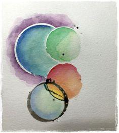 Colourstock: Werken met maskeervloeistof.