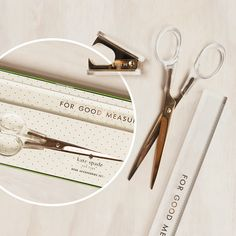 Looking for a little glamour and function? This gilded trio of tools from Kate Spade keeps your workspace organised and you inspired.