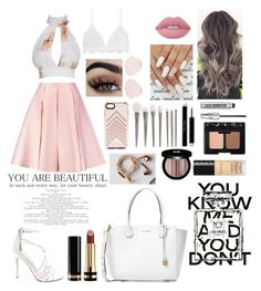 """""""pastel queen👑"""" by amazinggrace2004 on Polyvore featuring Serendipity, Emilia Wickstead, Steve Madden, Lime Crime, Bare Escentuals, NARS Cosmetics, Gucci, Edward Bess, Chanel and Michael Kors"""