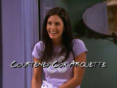 I love courteney's hair during this season of Friends!