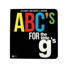 """""""ABC's for the Little g's"""" Board Book"""