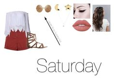 """""""Saturday"""" by isabellasmall ❤ liked on Polyvore featuring New Look, Lime Crime, Erica Weiner, Charlotte Russe, LC Lauren Conrad and Victoria Beckham"""