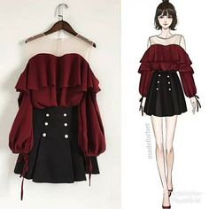 edgy outfits [New] The 10 Best Fashion Ideas Today (with Pictures) - . Teen Fashion Outfits, Kpop Outfits, Edgy Outfits, Cute Fashion, Cute Outfits, Fashion Ideas, Fashion Fashion, Fall Outfits, Classic Fashion