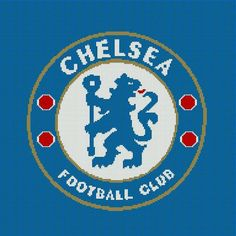 $5 - Chelsea Football Club Crochet Afghan Blanket Pattern - English Premier League by AngelicCrochetDesign on Etsy