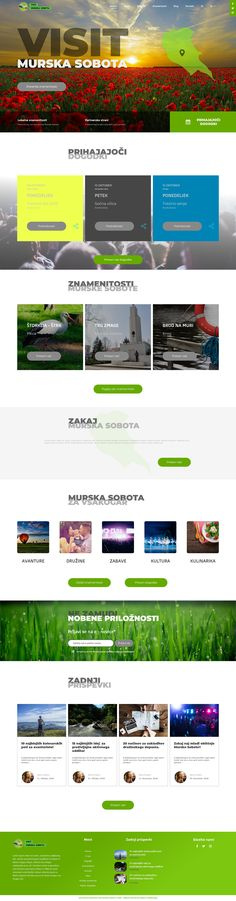 Visit Murska Sobota Concept Website Design  A website design for a tourism agency in my hometown.  If you are in need of a new website get in touch and I'll make sure you reach your goals.  #webdesign #website #websitedesign #websiteinspiration #business #tourism