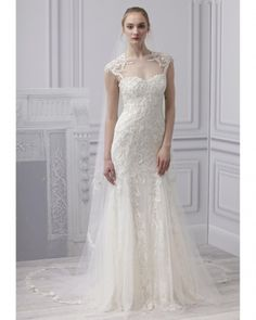 Monique Lhuillier (from Spring 2013 Bridal Fashion Week)