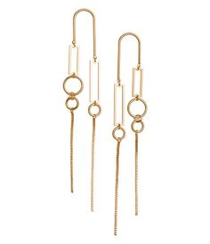 Earrings | Gold-colored | Women | H&M US