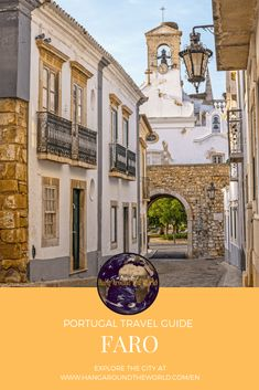 Faro - Hang Around The World Best Places To Travel, Places To Visit, Breathe In The Air, Where Is Bora Bora, Portugal Travel Guide, The Beautiful Country, Beautiful Buildings, Algarve, India Travel