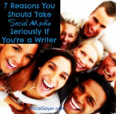 Want to write a book? Think it's just about writing a good one? Think again. Social media needs to be taken seriously. Below there are seven reasons why you need to give it some attention . . . but first what does social media look like to me?