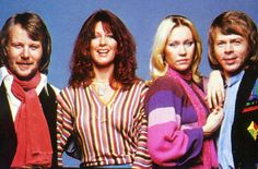 ABBA in 1978: Colours flying all over the place!
