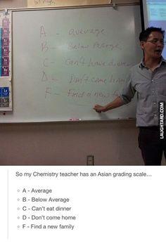 I feel like my Asian history teacher would write this