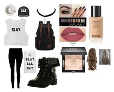 """""""Slay"""" by abigailannevivian on Polyvore featuring Refresh, Ivy Park, Calypso Private Label, Smashbox, Forever 21 and Givenchy"""